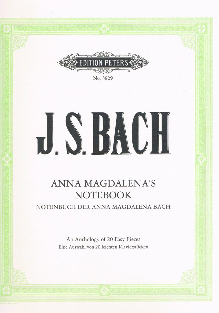 Anna Magdalena's Notebook