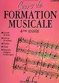 cours formation musical 4 ANO
