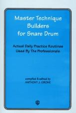 master technique builders for snare drums