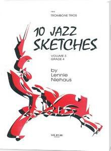 10 jazz sketches vol 3 sax trios