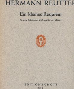 Ein Klein Requiem