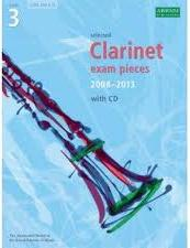 clarinet exam pieces 2008-2013 3