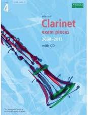 clarinet exam pieces 2008-2013 4