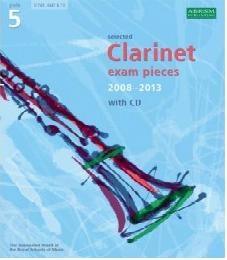 clarinet exam pieces 2008-2013 5