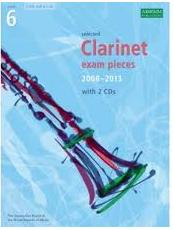clarinet exam pieces 2008-2013 6