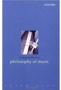 introduction to philosofy of music, kivy