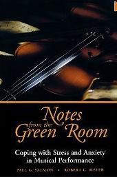notes from the green room-coping with strees