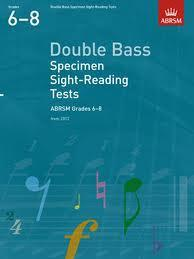 speciemnt sight reading 6-8 cbx