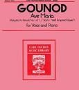Ave Maria Gounod - Medium Voice
