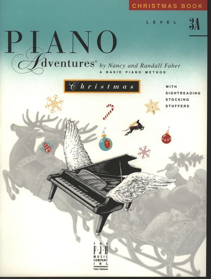Piano Adventures Christmas Book 3A