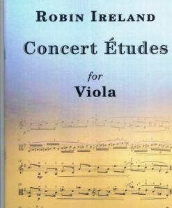 concert etudes viola