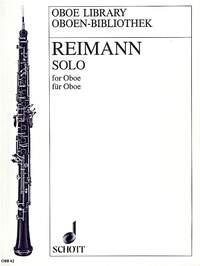solo for oboe reinmann