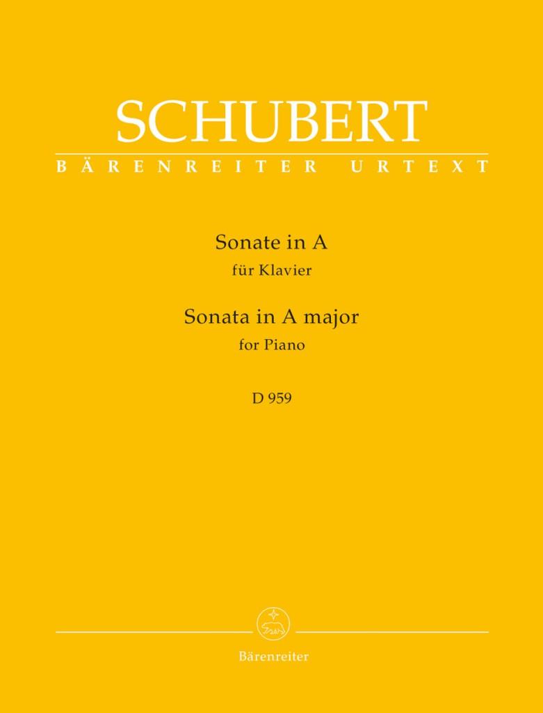 sonata d 959