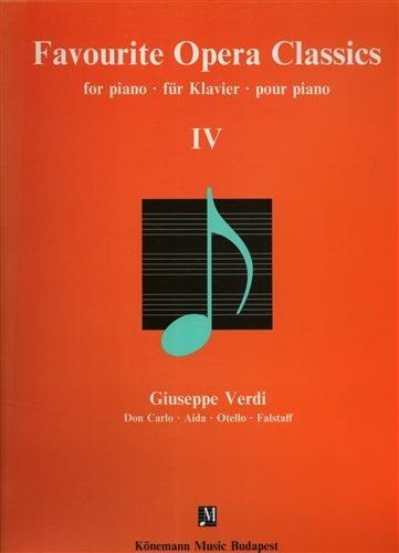 favourite opera classics iv