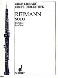 solo for oboe reinmann