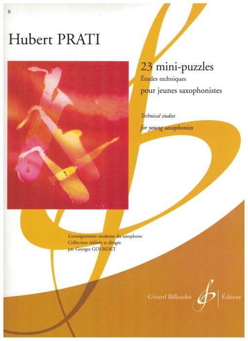 23 mini puzzles