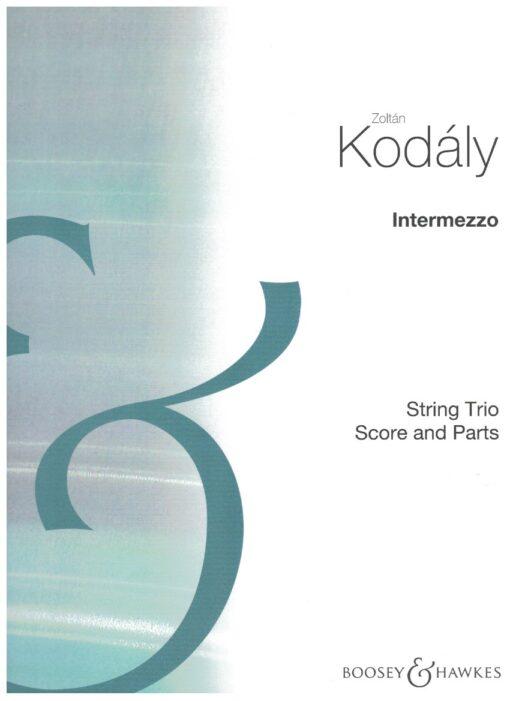 kodaly, trio